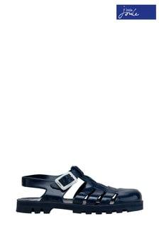 Joules Jelly Schuhe mit mehrere Riemen, Blau
