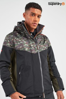 Superdry Axis Panelled Hooded Windcheater