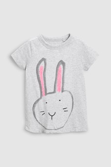 Bunny Short Sleeve T-Shirt (3-16yrs)