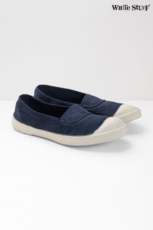White Stuff Blue Bensimon Pump