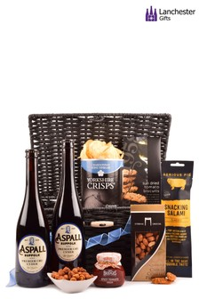 Cyder And Snacks Hamper by Lanchester Gifts