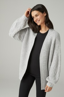 Weave Sleeve Cardigan