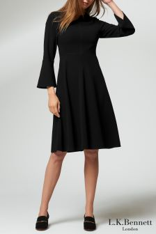 L.K.Bennett Black Caggie Dress