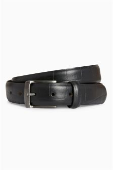 Leather Textured Belt