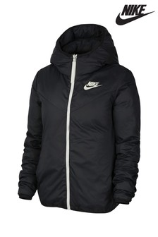 Nike Black NSW Down Fill Reversible Jacket