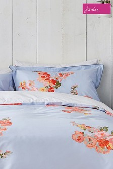 Joules Hollyhock Floral Pillowcases