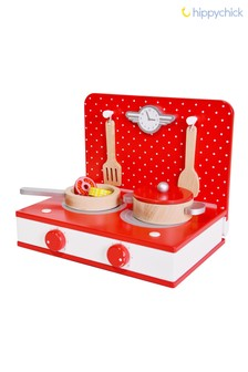 Retro Tabletop Toy Kitchen by Hippychick