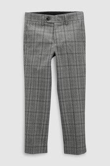 Pantaloni de costum în carouri (12 luni - 16 ani)