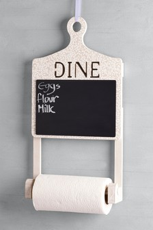 Chalk Board Kitchen Roll Holder