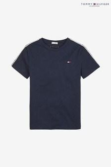 Tommy Hilfiger Boys Blue Tape T-Shirt