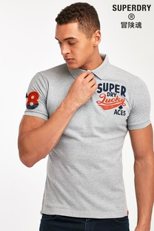 Superdry Grey Classic Poloshirt