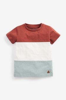 Colourblock Jersey T-Shirt (3mths-7yrs)