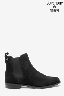 Superdry Black Chelsea Boots