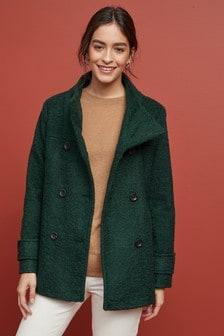 معطف من Bouclé