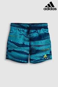 adidas Blue Parley Print Swim Short
