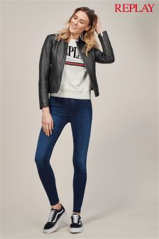 Replay® Joi Dark Wash High Rise Jegging