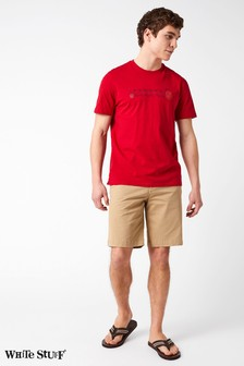 White Stuff Natural Banbury Stretch Chino Short