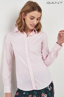 GANT Pink Tech Prep Oxford Shirt