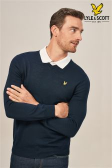 Lyle & Scott Golf Bowmont V-Neck Jumper