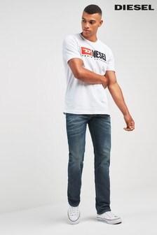 Diesel® Dark Wash 84 ZU Larkee Straight Fit Jean
