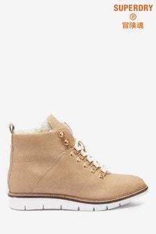 Superdry Tan Hiker Boots