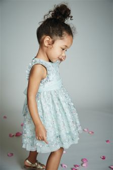 Floral Lace Prom Dress (3mths-6yrs)