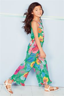 Wide Leg Frill Jumpsuit (3-16yrs)