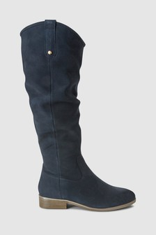51cc54f7b16 Knee High Suede Boots