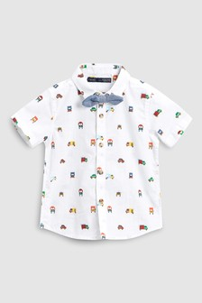 Car Print Shirt (3mths-6yrs)