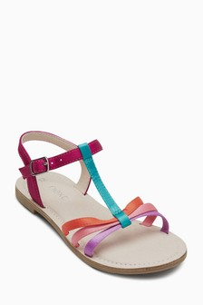 Cross Strap T-Bar Sandals (Older)
