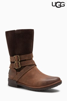 UGG® Lorna Brown Strap Boot
