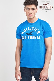 Hollister Short Sleeve Logo Top