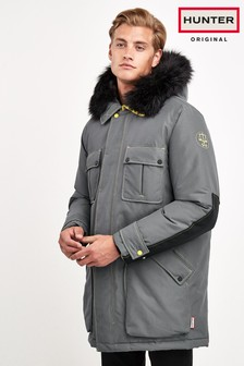 Hunter Mens Dark Grey Original Insulated Parka
