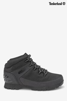 Timberland Black Knit Eurosprint Boots