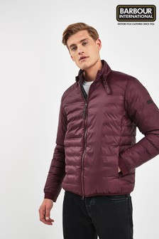 Barbour® International Burgundy Dock Quilted Jacket