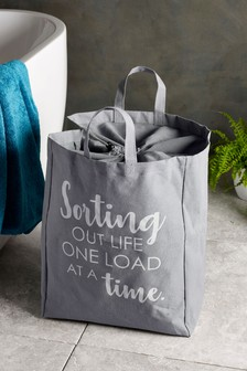 Slogan Laundry Bag