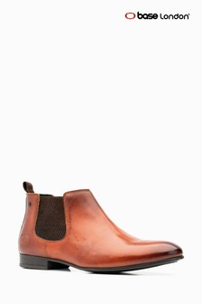 Base London® Tan Croft Chelsea Boot