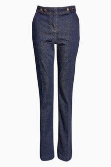 Elegante ausgestellte Jeans