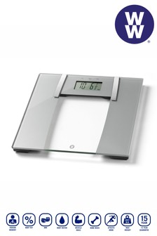 Weight Watchers Ultra Slim Glass Body Analyser Scales