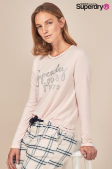 Superdry Cassie Long Sleeve Lounge Top