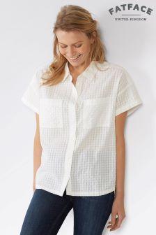 قميص كم قصير Agnes أبيض من FateFace
