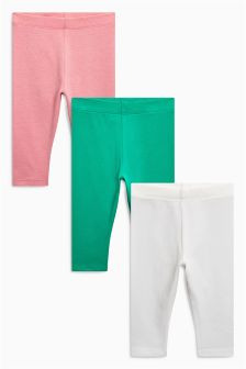 Crop Leggings Three Pack (12mths-6yrs)