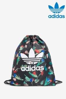adidas Originals Black Floral Gym Sack