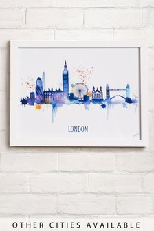 Favourite City Framed Print
