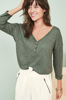 Utility Long Sleeve Top