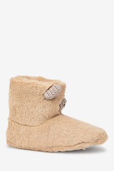 'Brittany' Bear Slipper Boots