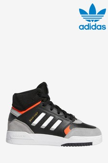 adidas Originals Black Drop Step Junior Trainers