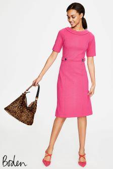 Boden Carnival Pink/Red Pop Betty Ottoman Dress