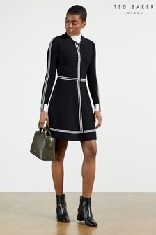 Ted Baker Sofiyya Shirt Style Skater Dress