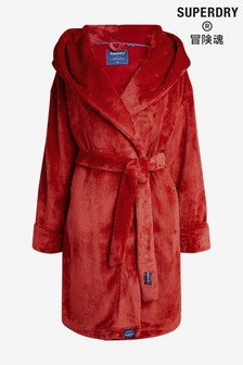 Superdry Red Dressing Gown